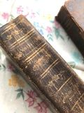 フランスアンティーク 古書 総革張りPAROISSIEN  1825年