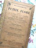 フランスアンティーク 古書 PETITE FLORE  1900年代初頭