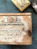 フランスアンティーク レトロな郵便木箱