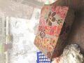 フランスアンティーク お花のカルトナージュボックス