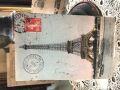 フランスアンティーク エッフェル塔のポストカード 1908年