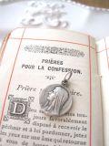 フランスアンティーク 聖母マリアメダイ ラウンド
