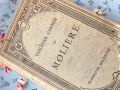 フランスアンティーク 古書THEATRE CHOISI DE MOLIERE 1960年頃