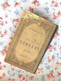 フランスアンティーク 古書CHOIX DE LETTRES DU XVIIIe SIECLE 1909年