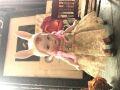 リプロビスクドール  ウサギの女の子 H15,5cm