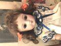 リプロビスクドール スタイナーCの茶目の女の子 H25cm