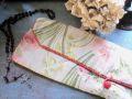 フランスアンティーク 花柄グローブケース