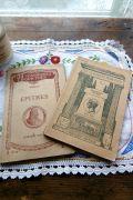 フランスアンティーク 古書LIBRAIRIE HATIER クラシックシリーズ2冊セットB