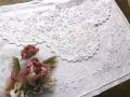 フランスアンティーク 手刺繍レースランジェリーケース