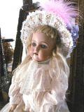 ジャーマンアンティークビスクドール シモン&ハルビッグSIMON&HALBIG K☆R 46 ブロンドのpoutyな女の子 H46cm