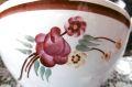 フランスアンティーク モントロー手描きのお花カフェオレボウル