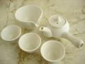 白瓷 3人茶器セット