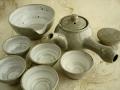 甕器土 5人茶器セット