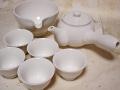白磁 5人茶器セット