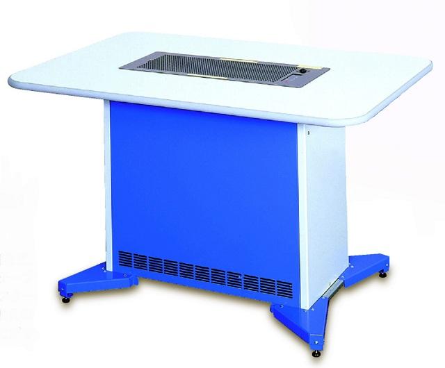 【株】コアテック 分煙対策用空気清浄機 スーパーユニット テーブルタイプ SU-1551 標準天板仕様