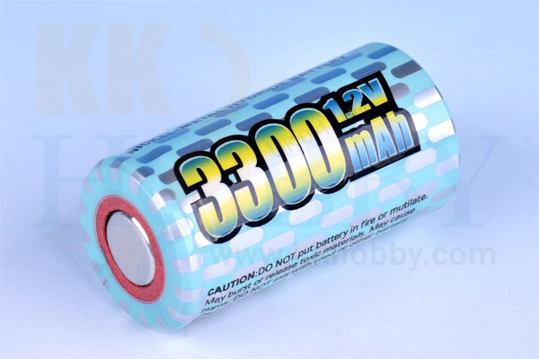 NiMH(ニッケル水素) 1.2V 3300mA SC(sub-C)