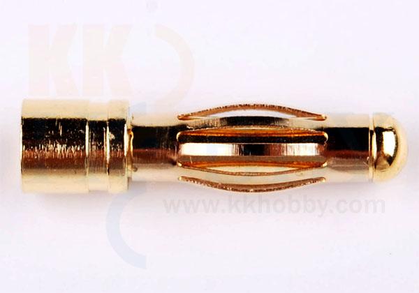 4mmゴールドコネクター(オス)  /66A8A