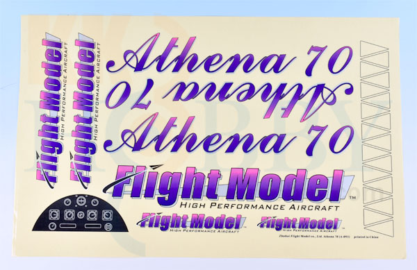 Athena 70 EP/GP用ステッカー