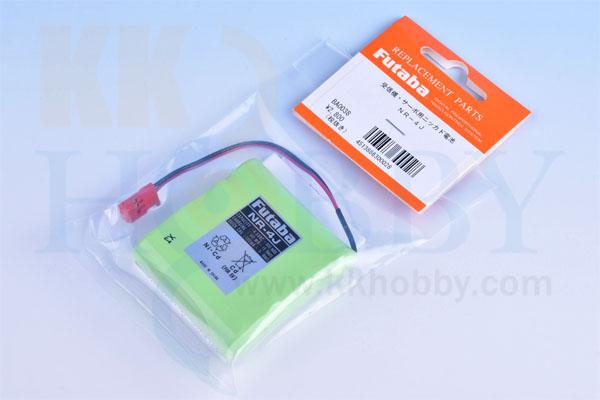 フタバ 受信機用ニッカド電池(NR-4J)