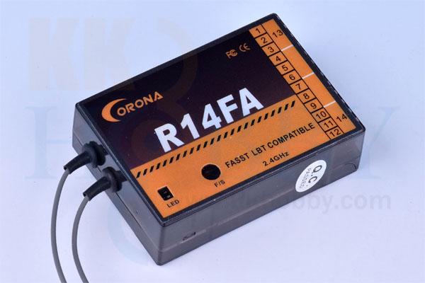 コロナ R14FA(FASST互換2.4G受信機)