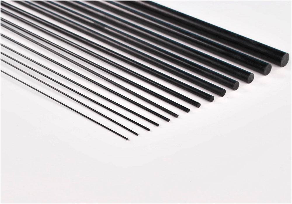 カーボンロッド 1mm〜10mm (14種類セット)
