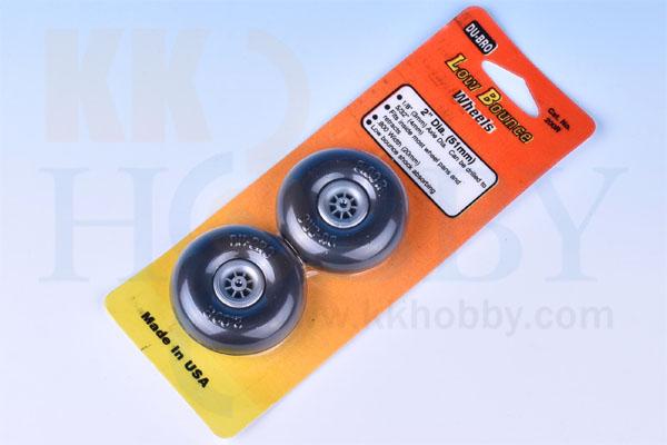 DU-BRO Low Bounce wheels 2インチ(51mm)