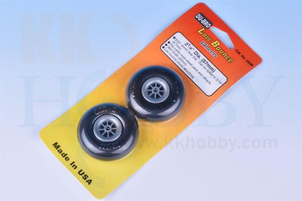 DU-BRO Low Bounce wheels 2-1/4インチ(57mm)