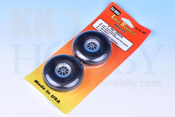 DU-BRO Low Bounce wheels 3インチ(76mm)