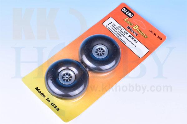 DU-BRO Low Bounce wheels 3 1/4(83mm)