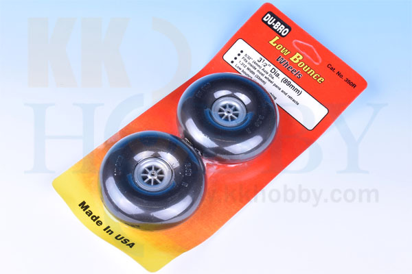 DU-BRO Low Bounce wheels 3 1/2(89mm)