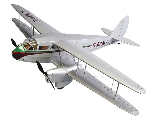 Dumas de Havilland DH-89 Dragon Rapide Kit 42(バルサキット)