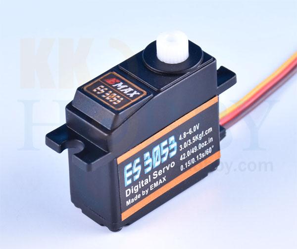 E-MAX デジタルミドルサーボ  ES3053