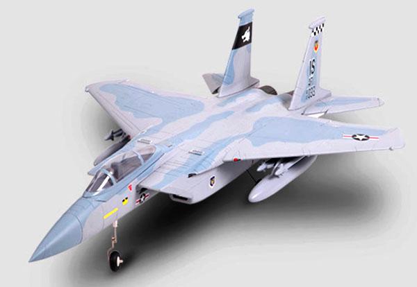 F15 イーグル (Sky Camo) V2 :全長980mm EDF64mm
