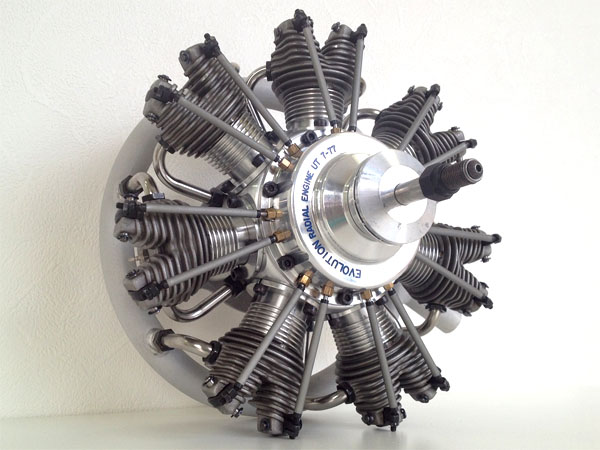 UMS Evolution Glow Engine 7気筒 77cc