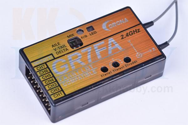 コロナ GR7FA (ジャイロ付FASST互換2.4G受信機)