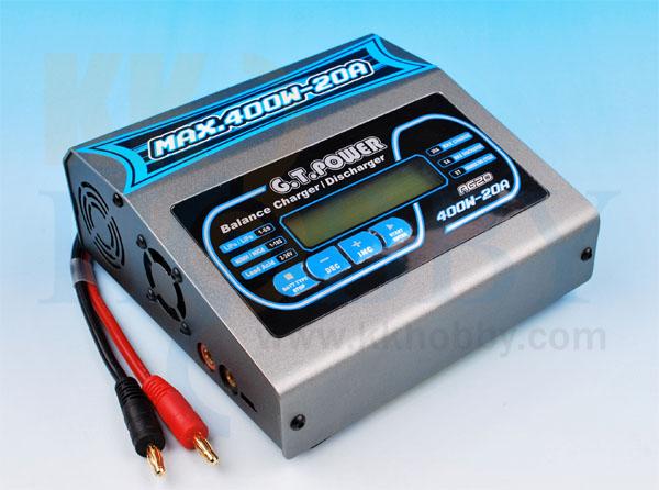 バランス充電器 GTPOWER A620 400W
