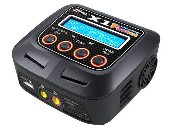 ハイテック ACバランスチャージャー X1 ポケット タイプ-J