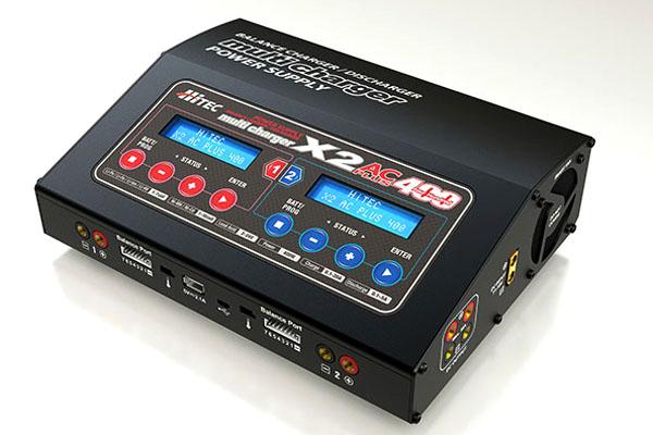 ハイテック マルチチャージャー X2 AC プラス 400