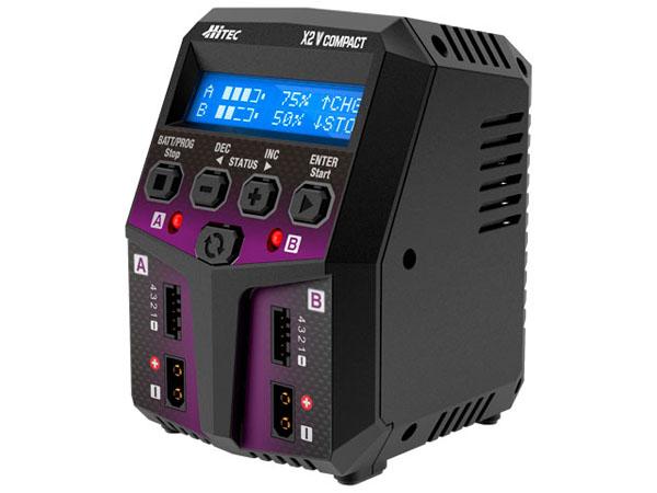 ハイテック  ACバランスチャージャー X2 バーティカル コンパクト