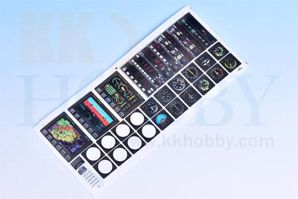 ダミー計器パネルシール B(90x200mm)