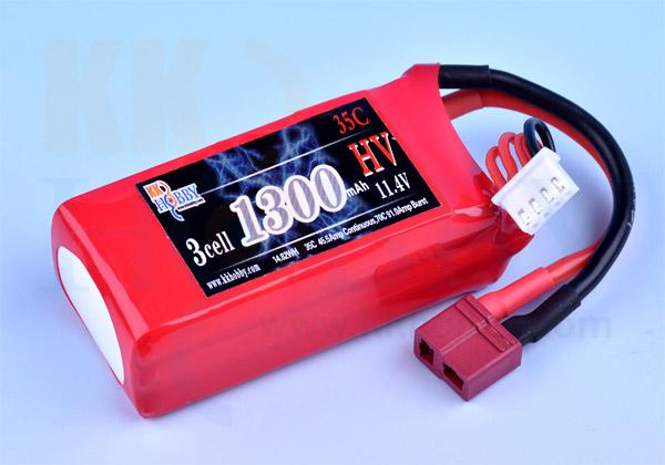 ハイボルテージ KKHOBBY 11.4V 1300mA 35C-70C
