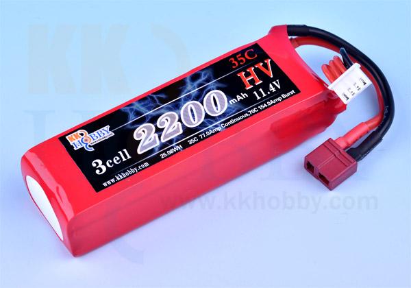 ハイボルテージ KKHOBBY 11.4V 2200mA 35C-70