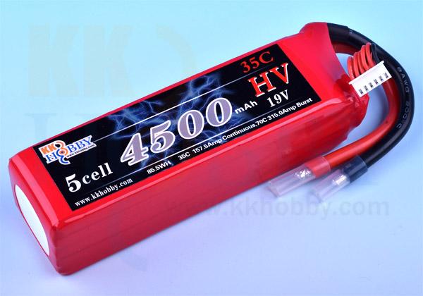 ハイボルテージ KKHOBBY 19.0V 4500mA 35C-70C