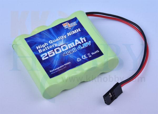 【急速充電対応】 KKHOBBY 受信機用NiMH(ニッケル水素) 4.8V 2500mA