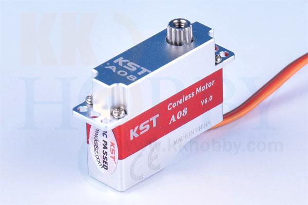 KST A08 デジタルマイクロサーボVer.6.0
