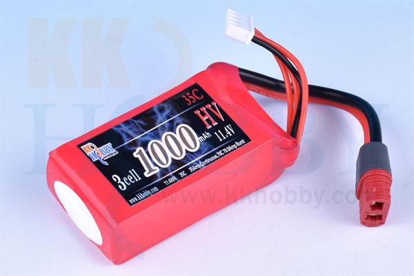 ハイボルテージ KKHOBBY 11.4V 1000mA 35C-70C