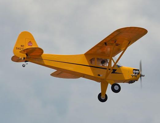 Piper J-3 Cub GP/EP  .46〜.55