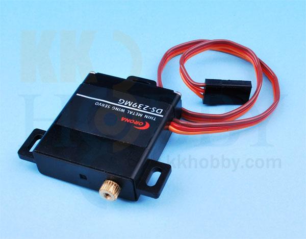 コロナ 薄型デジタルサーボ(メタルギヤ)DS-239MG