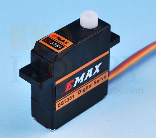 E-MAX 薄型デジタルミニサーボ ES3351