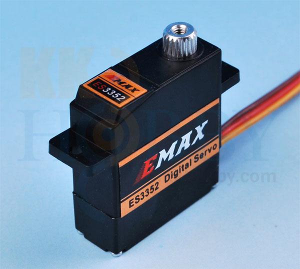 E-MAX 薄型デジタルミニサーボ(メタルギア) ES3352